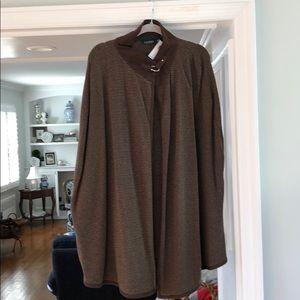 Lauren Ralph Lauren cape brown